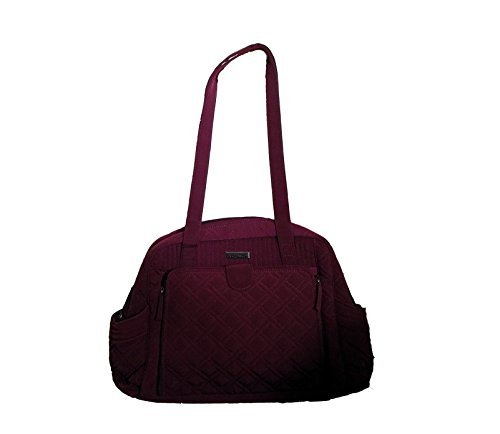 Vera Bradley Make a Change Baby Bag in Raisin