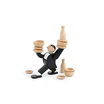 Kikkerland Don\'t Tip The Waiter Stacking Game: Toys & Games [5Bkhe0306967]