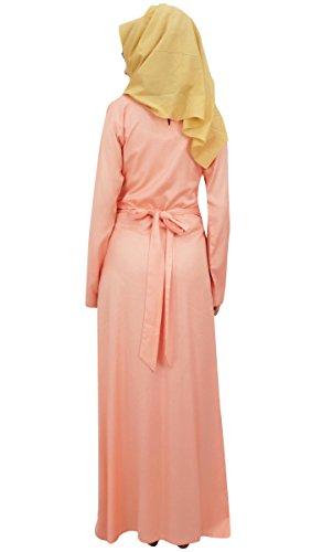 Lungo Rayon Delle Maxi La Jilbab Bimba Vestito Con Donne Islamico Abaya Pesca Hijab qEFrFtw