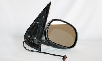 TYC 3010132 Textured Chrome Replacement Mirror