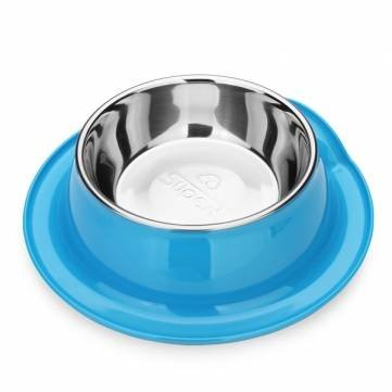 DB-20 Pet Bowl Edge Roll Stainless Steel No-slip Dog Cat Feeder
