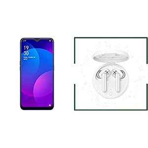 OPPO F11 (Fluorite Purple, 6GB RAM, 128GB Storage) + OPPO ENCO W31 True Wireless Earphone with Dual-Mic (White)