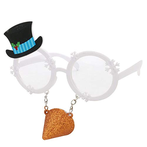 Fun Snowman - Ocean Line Christmas Snowman Sunglasses - Fun Glasses, Party Favors, Novelty Shades, Party Toys, Funny Costume Accessories Kids & Adults