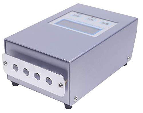 MeterTo Digital LCD Intelligent Air Ion Counter KEC990+II Air Negative Ion Tester 100~20 Million/cm3 Air Flow Rate 2.3m/s Avg./Max.Display