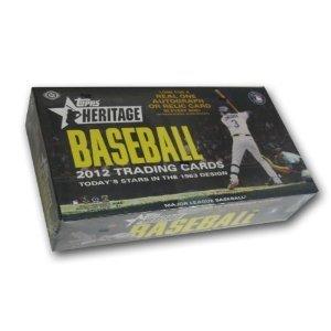 2012 Topps Heritage Baseball box (24 pk HOBBY)