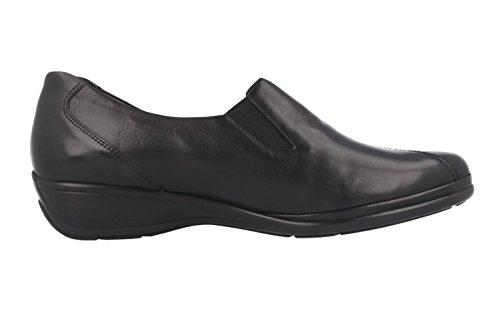 SEMLER - Natascha - Damen Slipper - Schwarz Schuhe in Übergrößen