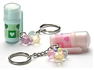 Mini Pepper Spray Key Chain Ring, 2 Pack | Contains 3 - 6 Bursts of 10% Oleoresin Capsicum (OC) | Lightweight & Discreet from Little Viper | Cannot Ship to MA or NY