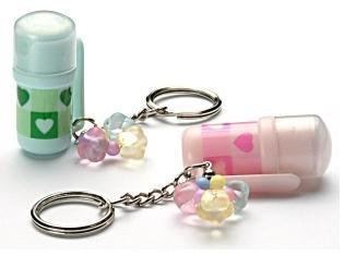 Mini Pepper Spray Key Chain Ring