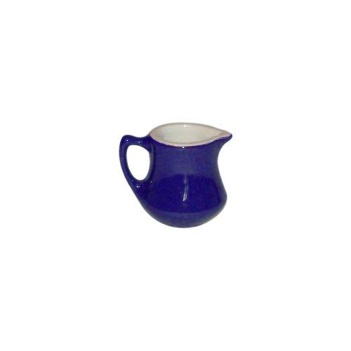 Hall China 30196105 Cobalt Blue Handled 5.5 Oz Creamer - 24 / CS