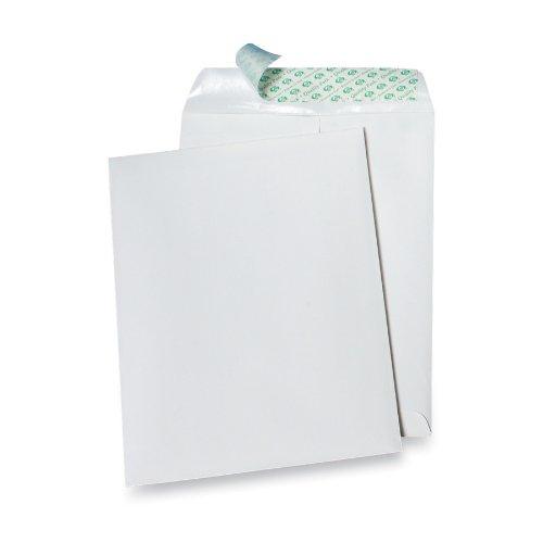 Quality Park Tech No Tear Catalog Envelope  White  10 Inches X 13 Inches  100 Envelopes  77397