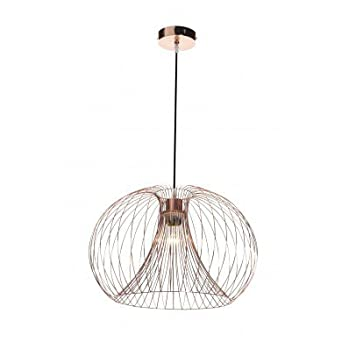 Contemporary modern copper wire ceiling pendant chandelier light contemporary modern copper wire ceiling pendant chandelier light shade amazon lighting greentooth Image collections