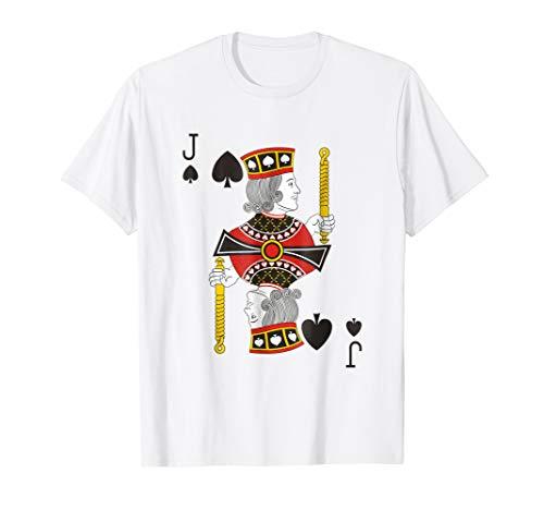 Jack of Spades T-Shirt Deck of Cards Group Halloween Shirts