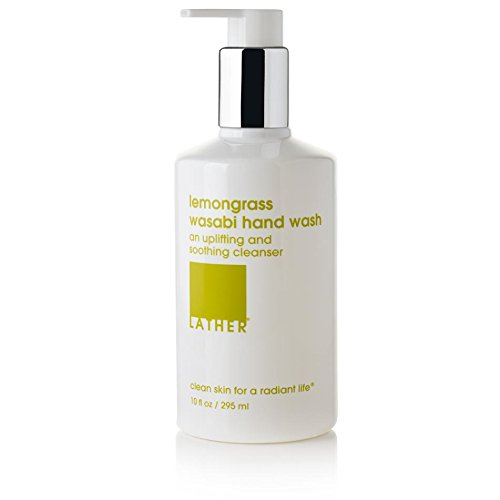LATHER Lemongrass Wasabi Hand Wash 10oz (Hand Wash Wasabi)