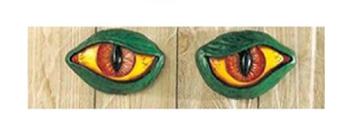 [Spooky Eyes - Halloween Gothic Decoration - Right and Left Eye - Dragon Eyes] (Price Is Right Costume)