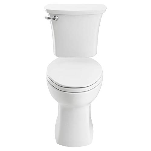 American Standard 204AB104.020 Edgemere Right Height Elongated 10-Inch Rough-in Toilet, White