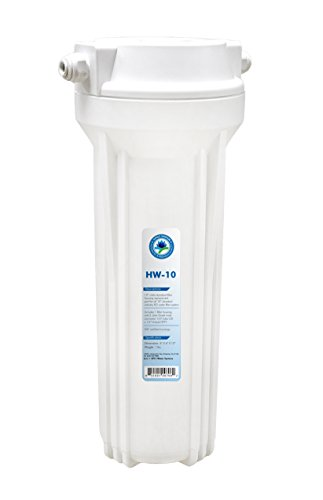 APEC Water Systems HW-10 10 White Standard Filter Housing with 14 John Guest Fittings