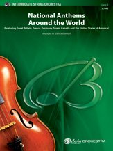 Canada Sheet Music - National Anthems Around the World - Featuring Great Britain, France, Germany, Spain, Canada and The United States of America - Arr. Jerry Brubaker - Conductor Score