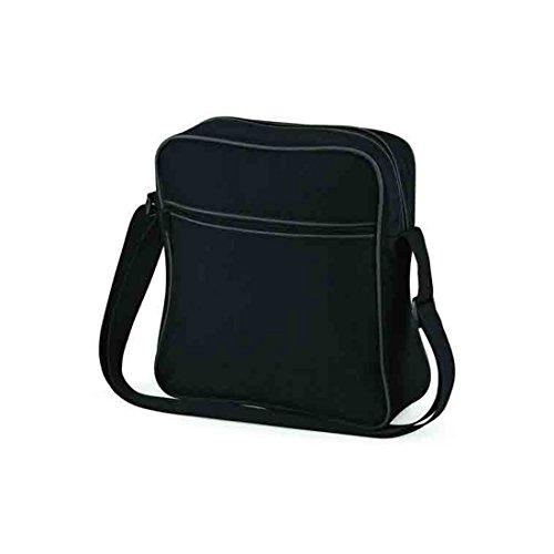 Black Base Bolsa Unisex Bag Retro Vuelo Graphite adultos Dark RY1nP