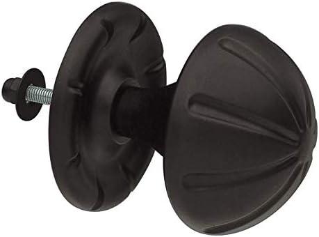 AMIG - Pomo Puerta Negro Mate Amig 75 Mm