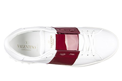 Valentino chaussures baskets sneakers homme en cuir blanc EU 42 MY0S0830 TCQ S40
