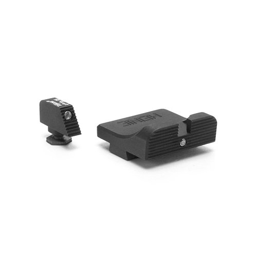 #322C Heinie's Glock Classic Straight Eight (2Dot) Tritium Night Sight Set (Front & Rear) by Heinie