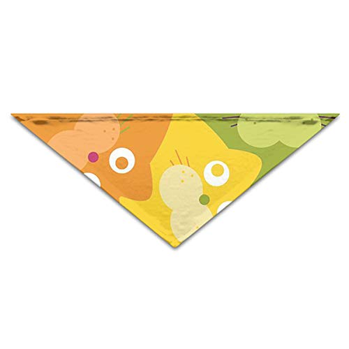OLOSARO Dog Bandana Cute Walrus Triangle Bibs Scarf Accessories for Dogs Cats Pets Animals