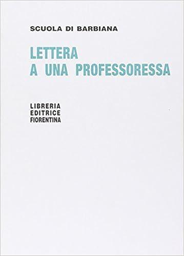 Risultati immagini per lettera a una professoressa