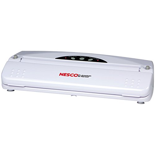 Nesco VS-01 Food Vacuum Sealer, White
