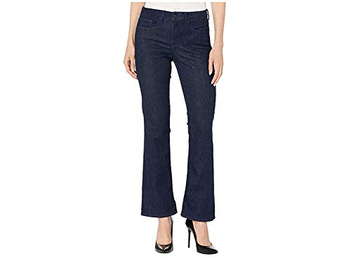 NYDJ Women's Barbara Bootcut Jeans, RINSE, 10 Short Denim Five Pocket Shorts