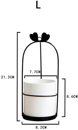 Qxp-zyp Oro Nordic Plancha de cerámica de Maquillaje Copa Organizador Cesta Pincel delineador de Ojos Conjunto de la Taza de Almacenamiento Tocador de Maquillaje cosmético Caja Organizador, Hermosa