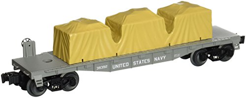 - Lionel Trains Navy US Made Flatcar