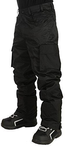 - Grenade Cargo Snowboard Pants Mens Sz L Black