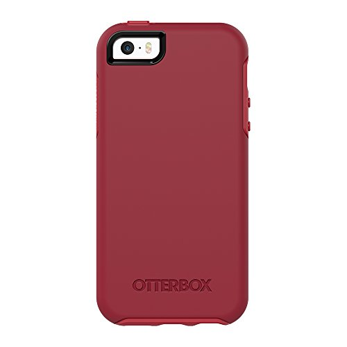 OtterBox SYMMETRY SERIES Case for iPhone 5/5s/SE - ROSSO CORSA (FLAME RED/RACE RED)