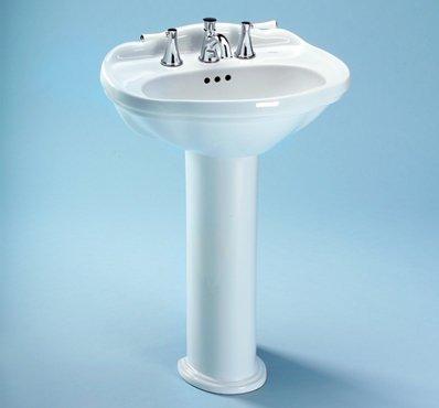 - Toto PT754#11 Whitney Pedestal Leg, Colonial White