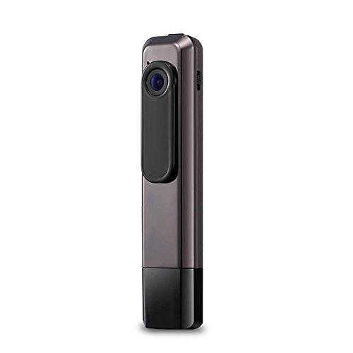 1440P クリップペン ビデオカメラ フルハイビジョン 会議レコーダー 140°ワイドビュー SDカード付き