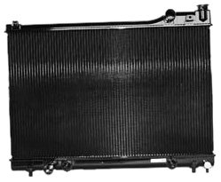 TYC 1307 Mazda 929 2-Row Plastic Copper Replacement Radiator