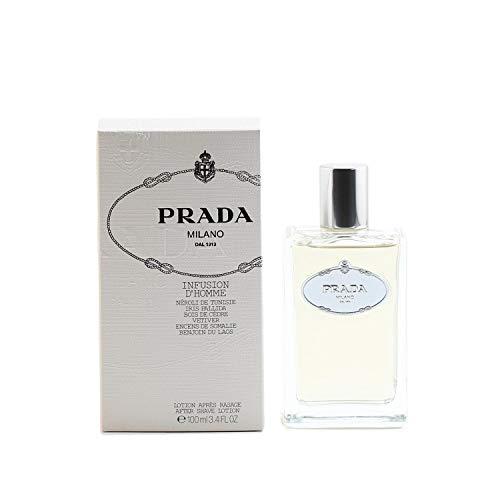 Prada Infusion Milano (Prada Iris Milano Men Aftershave Lotion 3.4 oz)