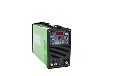 2017 Everlast PowerTIG 185 DV AC / DC TIG Stick Welder 110/220 Volt Inverter-based Dual Voltage PEDAL