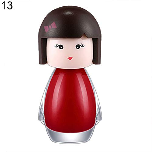 6ml Cartoon Figure Water Soluble Kids Nail Polish Long Lasting Varnish Decor - 13#