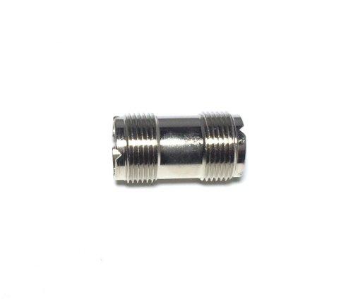 Pro Trucker (5 PACK) UHF Female Jack to UHF Female Jack PL258 Coax Adapter Barrel RF ()