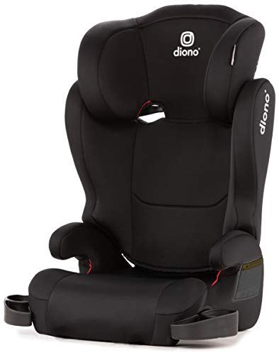 (Diono Cambria 2 High-Back Children's Booster Seat - 6 Position Head-Support, 40-120 Pounds, Black )