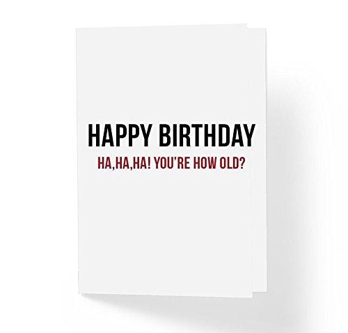 Love And Friendship Sarcastic Birthday Card