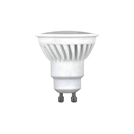 Bombilla Dicroica LED GU10 10W 120º Cerámica Blanco cálido: Amazon.es: Iluminación