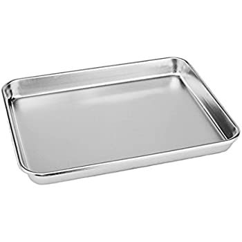 Amazoncom Teamfar Stainless Steel Compact Toaster Oven Pan Tray