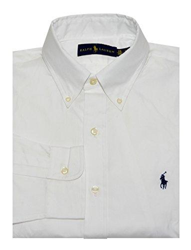 Ralph Lauren Classic Fit Mens Dress Shirt, White (17)