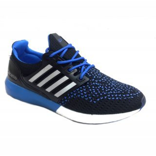 4b9025aed2a136 calcetto Men's Black Canvas Running Shoes (10): Buy Online at Low ...