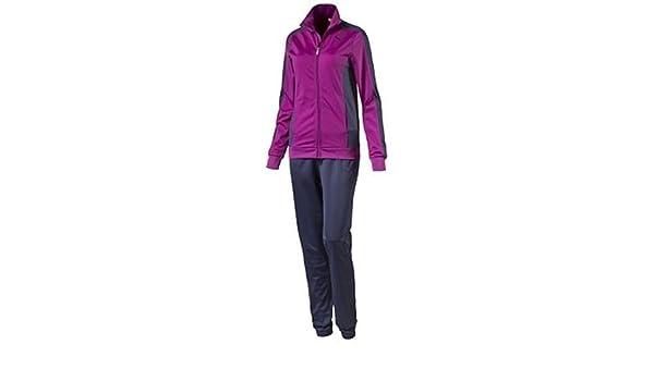 Puma Fun Poly Suit Cl - Chándal para Mujer, Color Morado/Azul ...