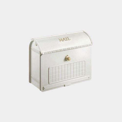 郵便ポスト 郵便受け サインポスト ユーロバッグ 漆喰ホワイト色(CTR2800WS)   B075K8XW7R