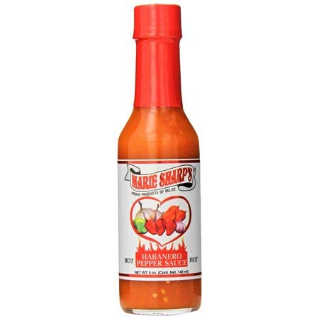 Marie Sharp's Hot Habanero Pepper Sauce, 5 Ounce