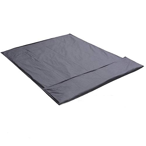 36x48 Cotton Duvet Cover for Weighted Blanket for Adults /& Teens Upgrade Heavy Blanket Natural Cotton with Glass Beads Dark Grey Print HooSeen